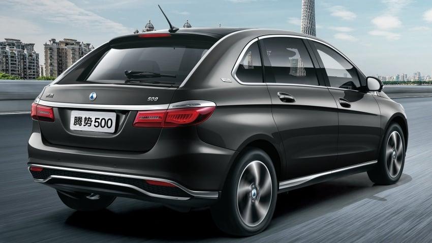 Denza 500 – new Daimler-BYD EV with 500 km range Image #796749