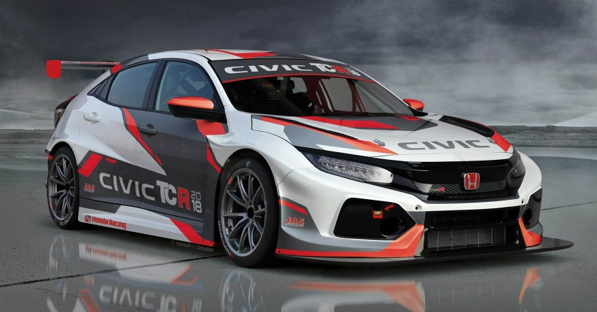 Honda Civic Type R TCR revealed at Geneva show Image #788669
