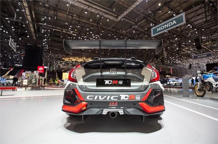 Honda Civic Type R TCR revealed at Geneva show Image #788670