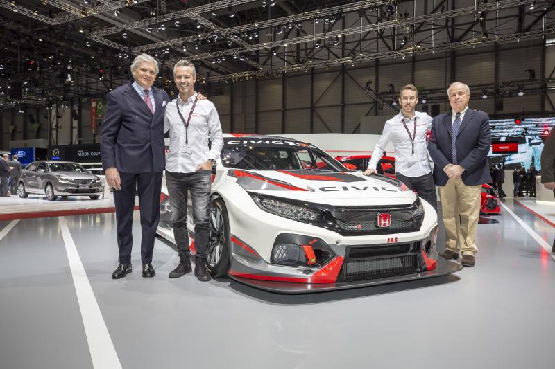 Honda Civic Type R TCR revealed at Geneva show Image #788674