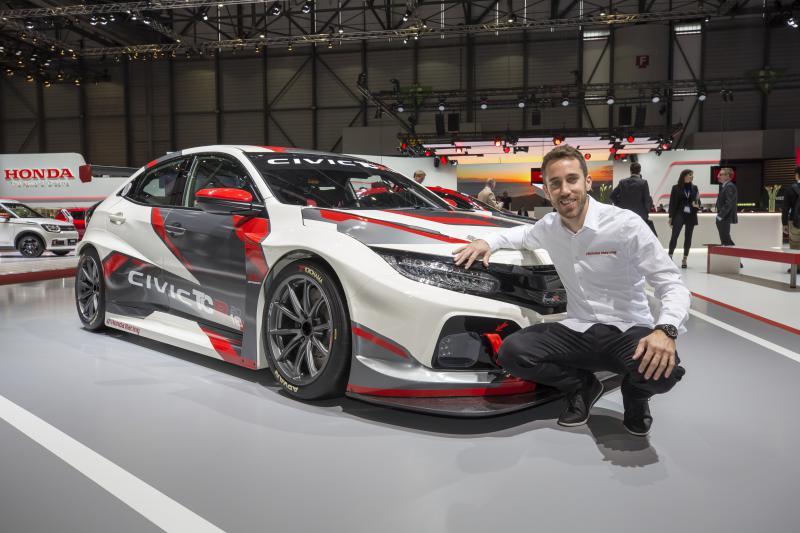 Honda Civic Type R TCR revealed at Geneva show Image #788675