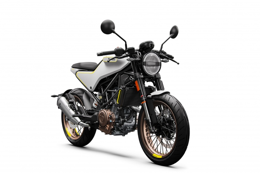 2018 Husqvarna Vitpilen 701 enters market end April Image #790413
