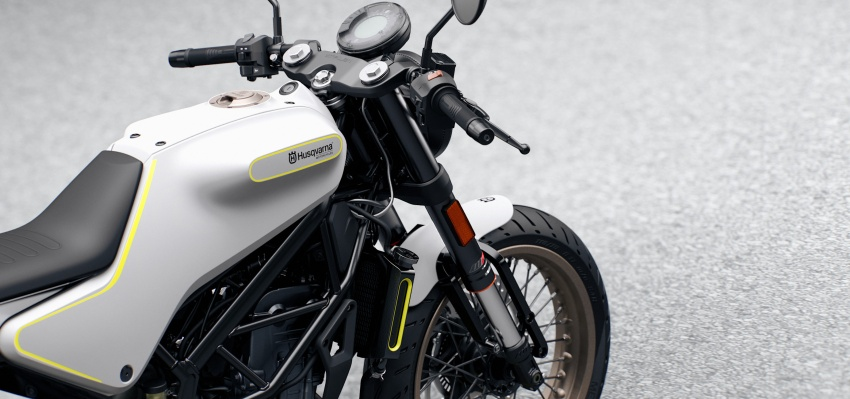 2018 Husqvarna Vitpilen 701 enters market end April Image #790401