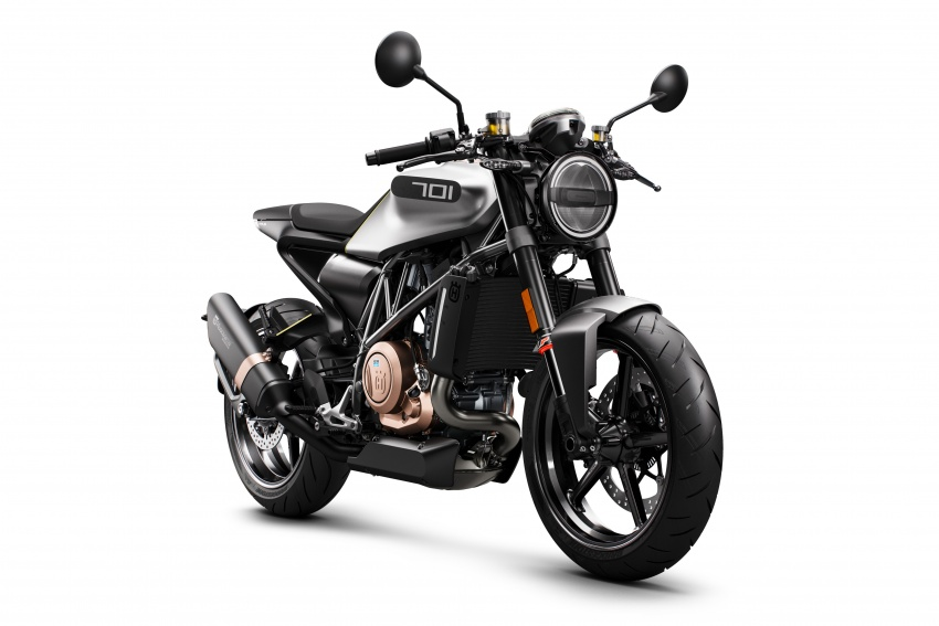 2018 Husqvarna Vitpilen 701 enters market end April Image #790375