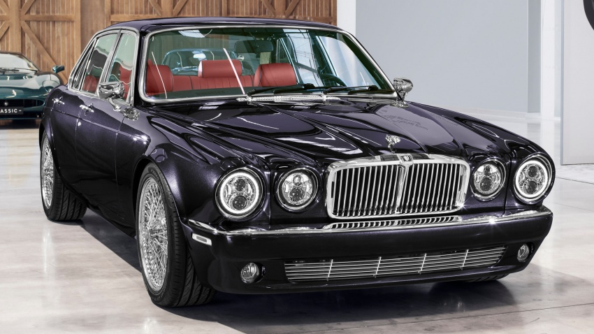 "Jaguar ""Greatest Hits"" XJ6 unveiled – restomodded 1984 Series 3 bespoke made for Iron Maiden drummer Image #788436"