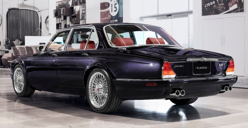 "Jaguar ""Greatest Hits"" XJ6 unveiled – restomodded 1984 Series 3 bespoke made for Iron Maiden drummer Image #788438"