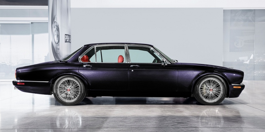 "Jaguar ""Greatest Hits"" XJ6 unveiled – restomodded 1984 Series 3 bespoke made for Iron Maiden drummer Image #788439"