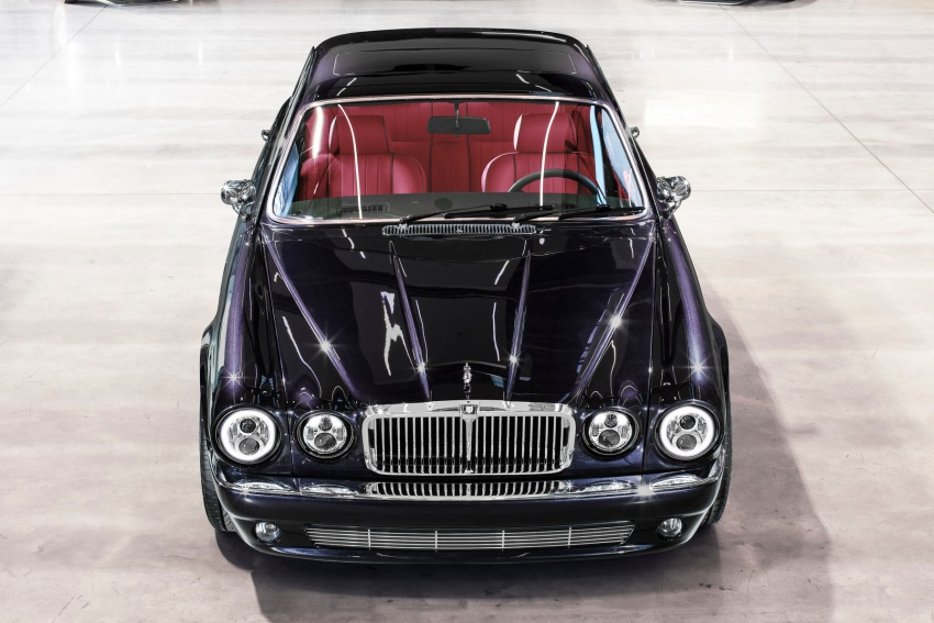 "Jaguar ""Greatest Hits"" XJ6 unveiled – restomodded 1984 Series 3 bespoke made for Iron Maiden drummer Image #788440"