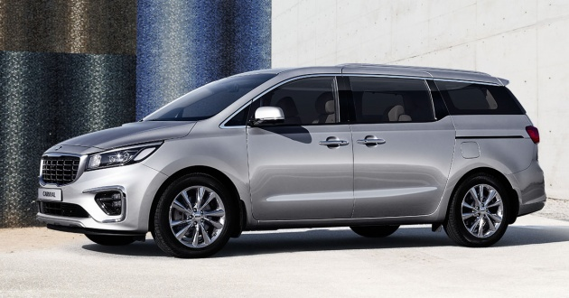 Kia Carnival Facelift Officially Debuts In South Korea