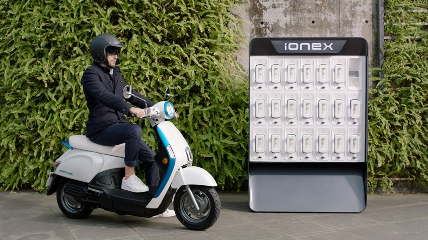 2018 Kymco Ionex unveiled ahead of Tokyo show Image #796849