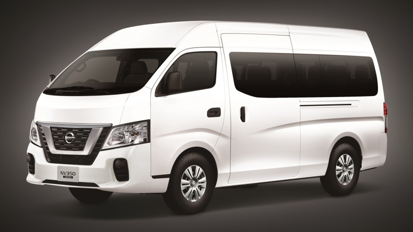 Nissan NV350 Urvan facelift introduced in Malaysia Image #789232