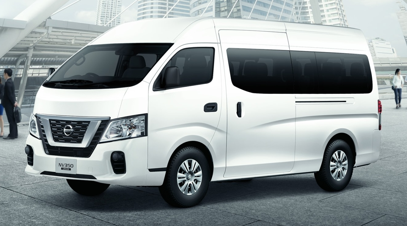 Nissan Nv350 Urvan Facelift Introduced In Malaysia
