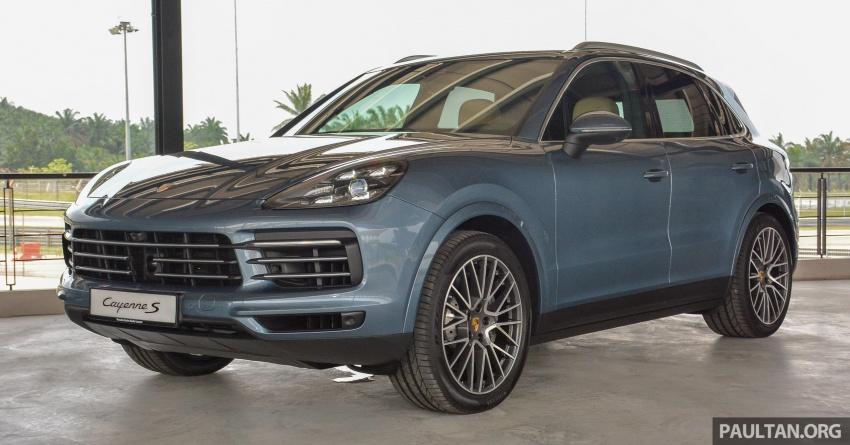 Porsche Cayenne 2018 ditampilkan lagi di Malaysia Image #791816