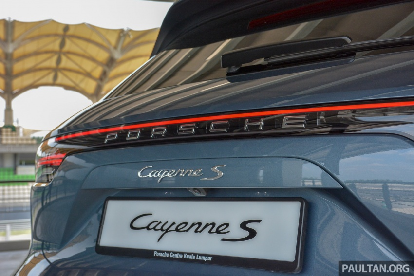 2018 Porsche Cayenne makes regional debut in M'sia Image #791737