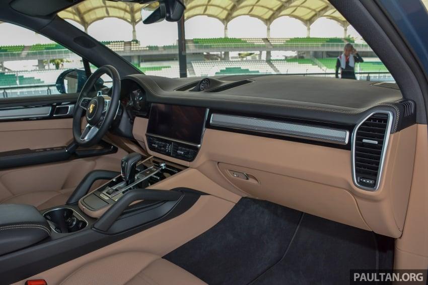 2018 Porsche Cayenne makes regional debut in M'sia Image #791744