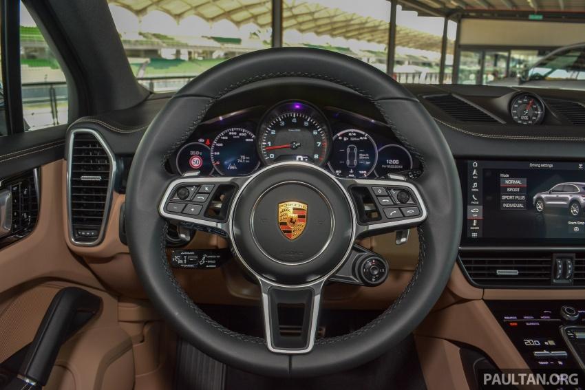 2018 Porsche Cayenne makes regional debut in M'sia Image #791748