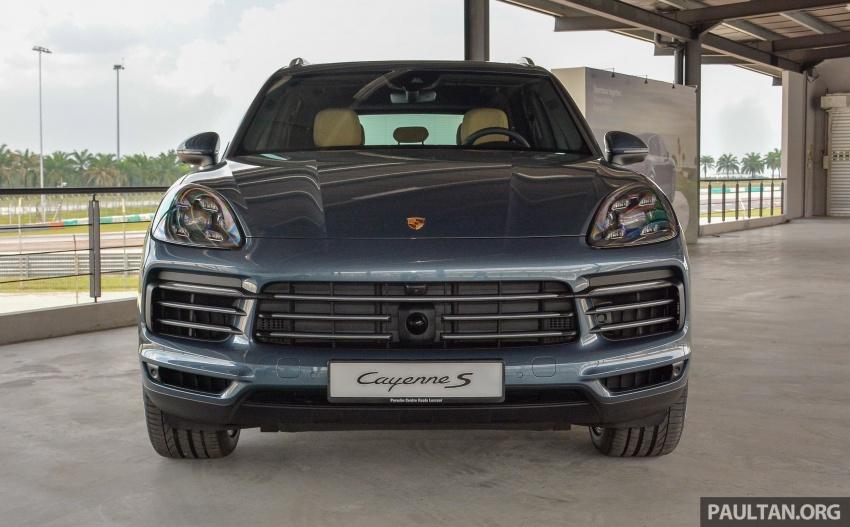 Porsche Cayenne 2018 ditampilkan lagi di Malaysia Image #791818