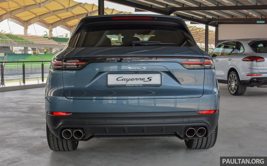 2018 Porsche Cayenne makes regional debut in M'sia Image #791729