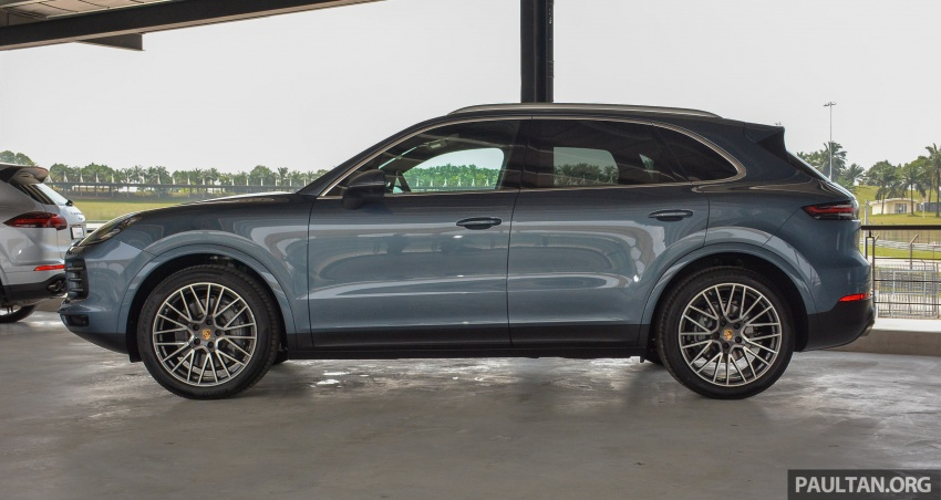 2018 Porsche Cayenne makes regional debut in M'sia Image #791730