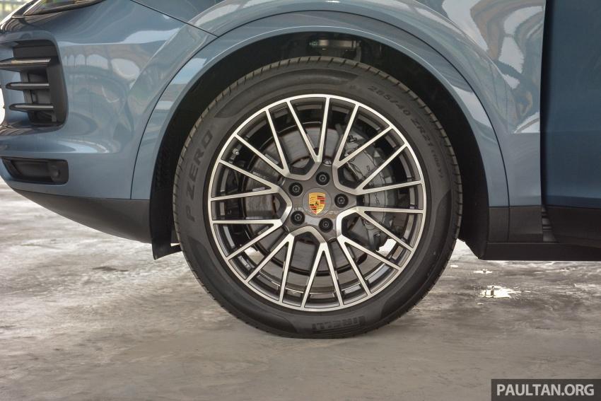 2018 Porsche Cayenne makes regional debut in M'sia Image #791731