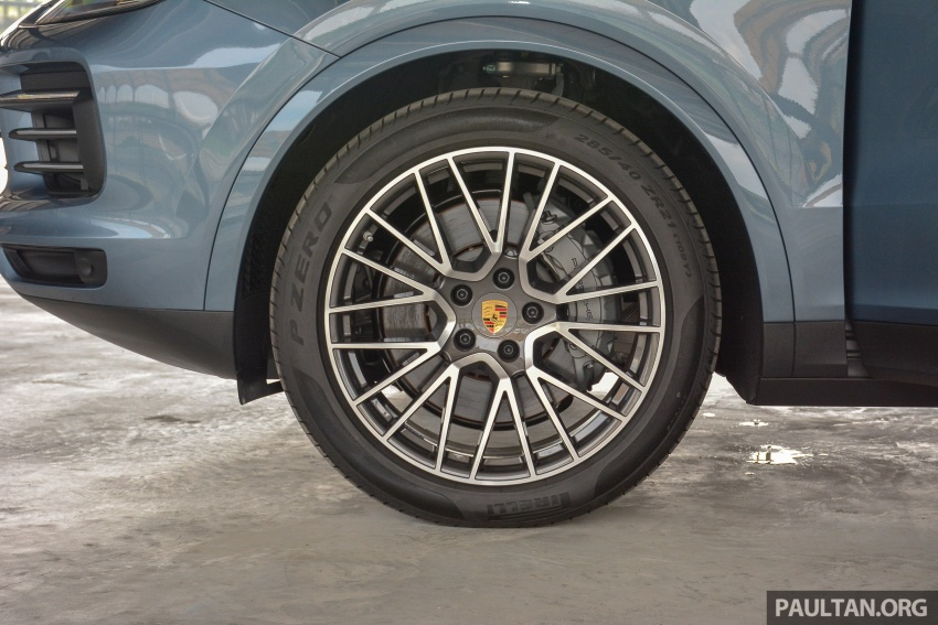 Porsche Cayenne 2018 ditampilkan lagi di Malaysia Image #791821