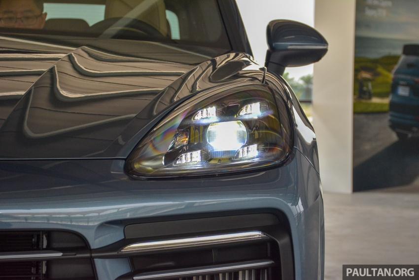 Porsche Cayenne 2018 ditampilkan lagi di Malaysia Image #791825
