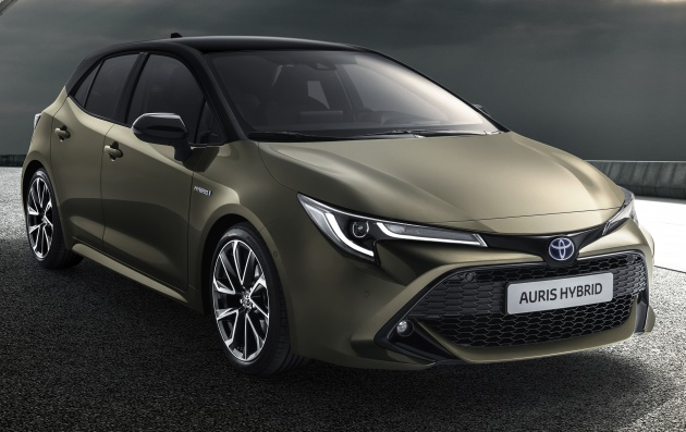 2018 toyota auris previewed new tnga platform 1 2 litre turbo petrol 1 8 and 2 0 litre. Black Bedroom Furniture Sets. Home Design Ideas