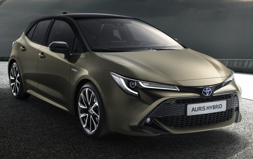 2018 Toyota Auris previewed – new TNGA platform, 1.2 litre turbo petrol, 1.8 and 2.0 litre hybrid models Image #786983