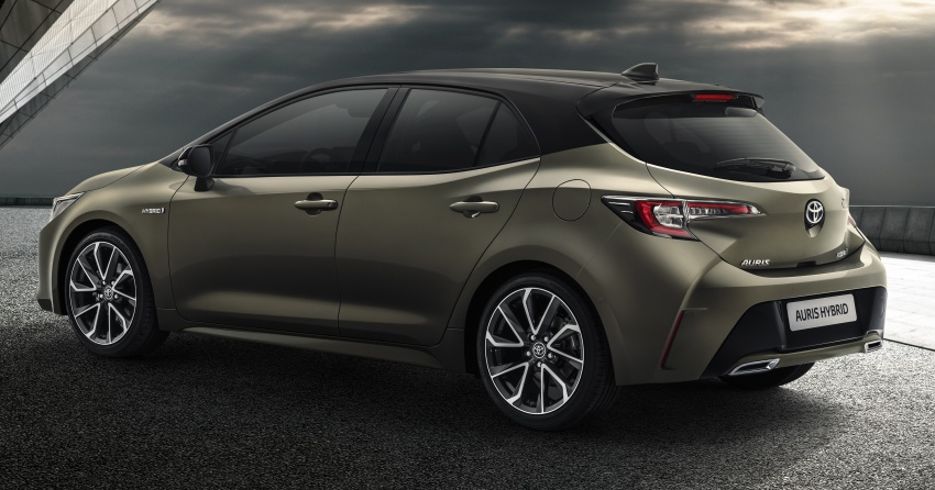 2018 Toyota Auris previewed – new TNGA platform, 1.2 litre turbo petrol, 1.8 and 2.0 litre hybrid models Image #786984