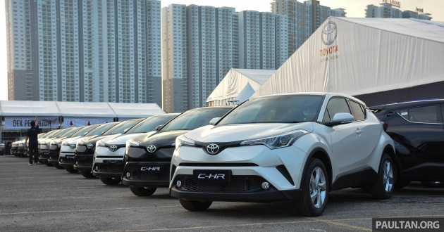 Toyota C-HR - first 50 M'sian customers get their keys