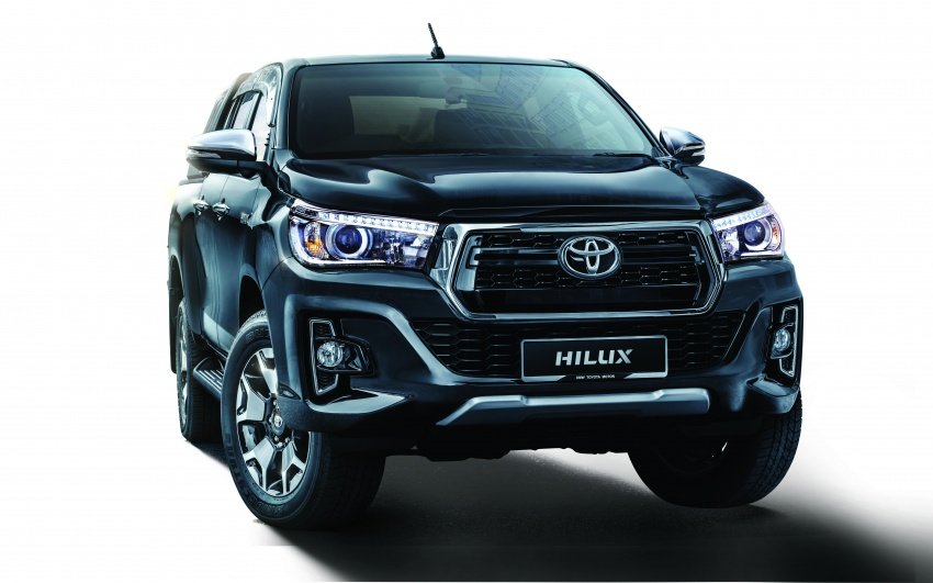 Toyota Hilux <em>facelift</em> 2018 kini di M'sia – diperkenalkan dalam versi L-Edition, 2.4L dan 2.8L, bermula RM119k Image #790518