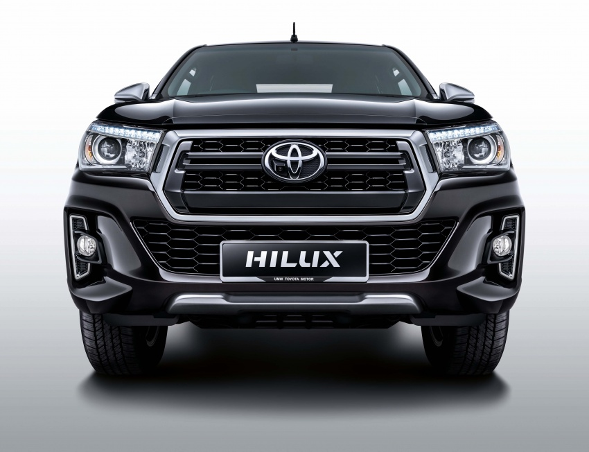 Toyota Hilux <em>facelift</em> 2018 kini di M'sia – diperkenalkan dalam versi L-Edition, 2.4L dan 2.8L, bermula RM119k Image #790517