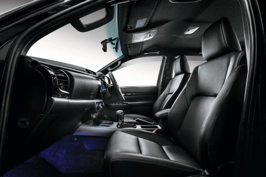 Toyota Hilux <em>facelift</em> 2018 kini di M'sia – diperkenalkan dalam versi L-Edition, 2.4L dan 2.8L, bermula RM119k Image #790508