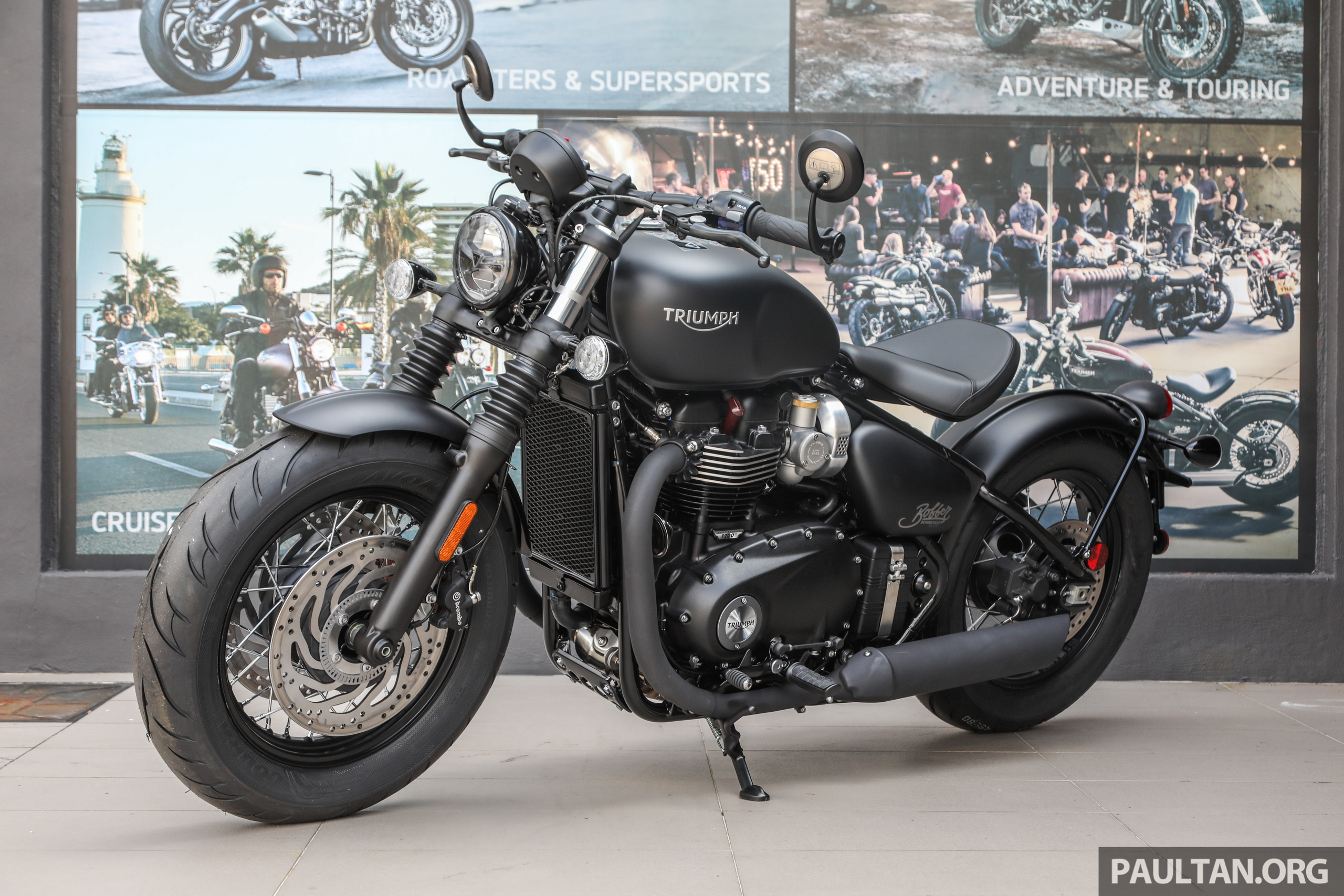 Triumph Tiger 800 2018 >> 2018 Triumph Bobber Black, Speedmaster, Tiger 800 XC and XR in Malaysia – from RM56,900 to RM81 ...
