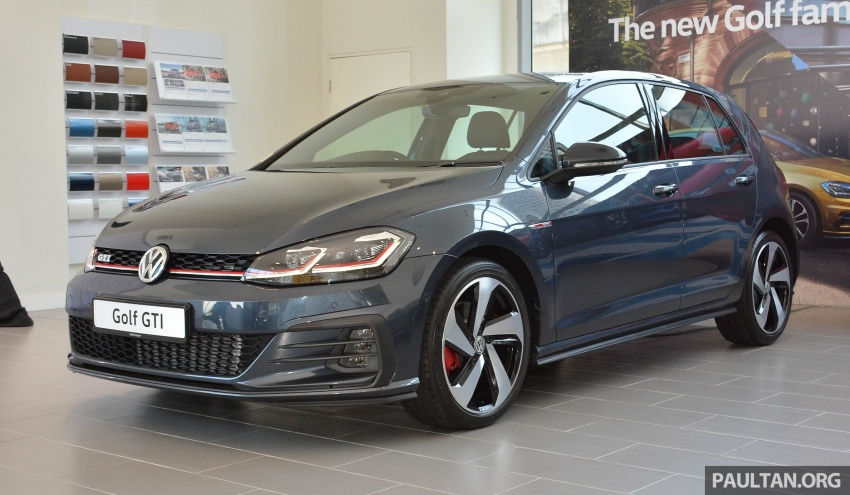 2018 Volkswagen Golf GTI facelift launched – RM240k Image #794883