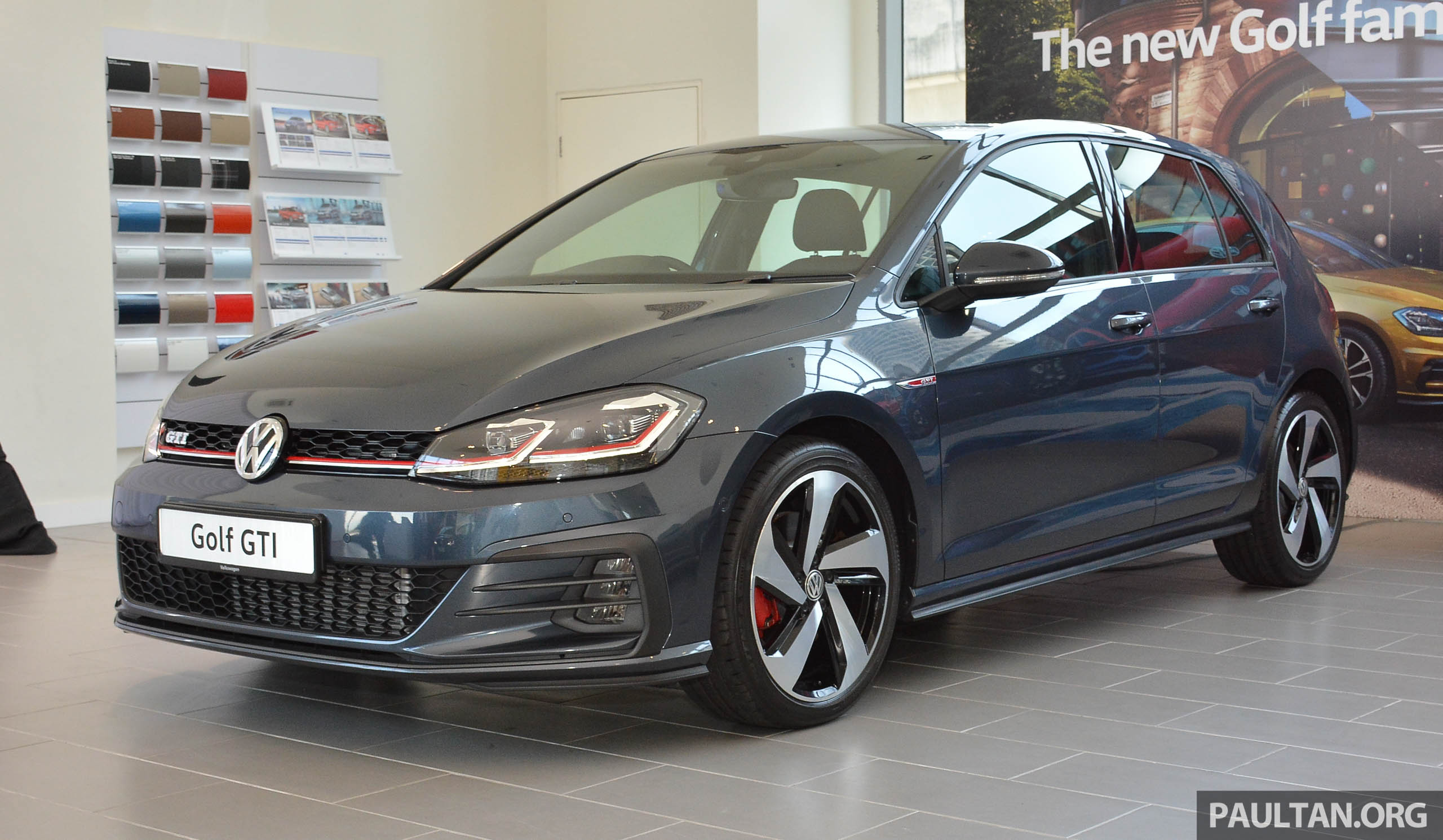 2018 volkswagen golf gti facelift launched rm240k. Black Bedroom Furniture Sets. Home Design Ideas