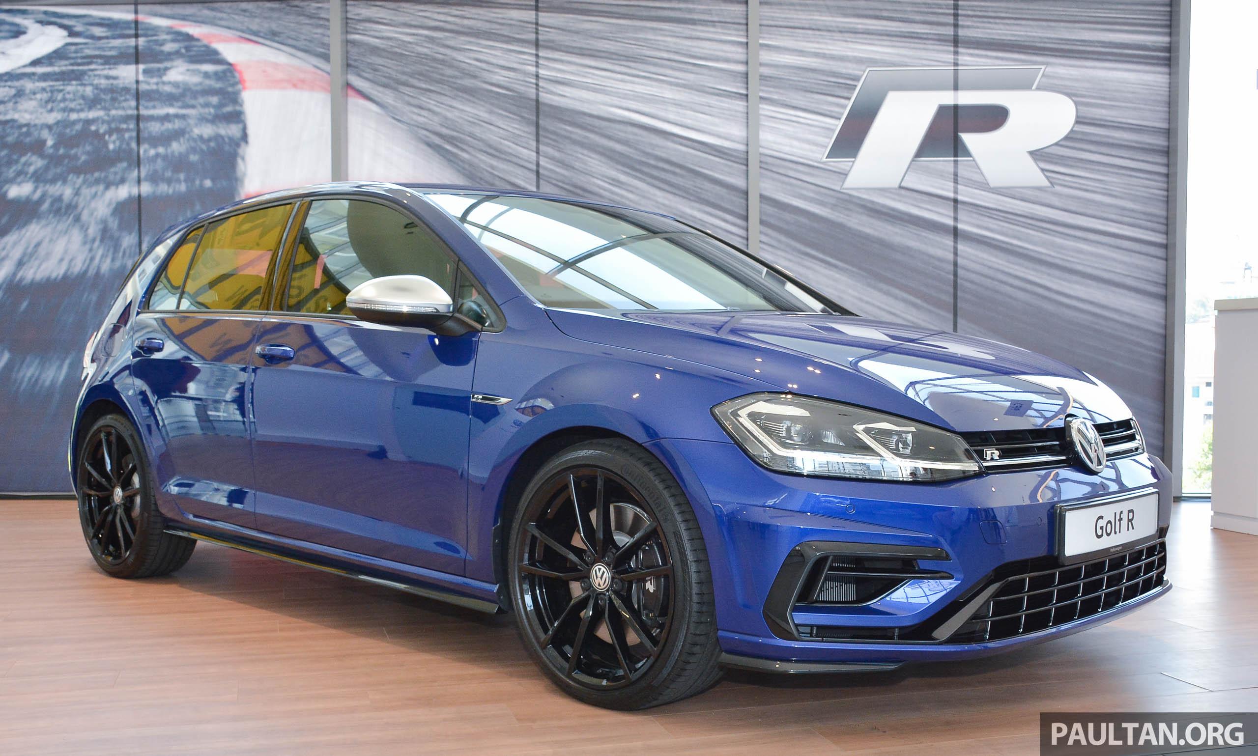 2018 Volkswagen Golf R Debuts In Malaysia Rm296k Paultan Org