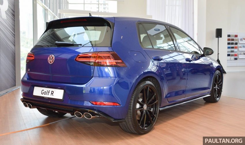2018 Volkswagen Golf R debuts in Malaysia – RM296k Image #795142