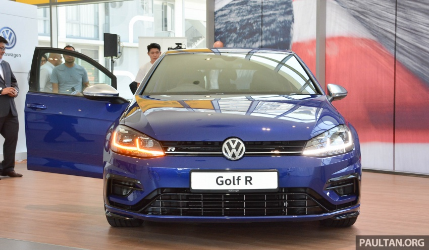 2018 Volkswagen Golf R debuts in Malaysia – RM296k Image #795143