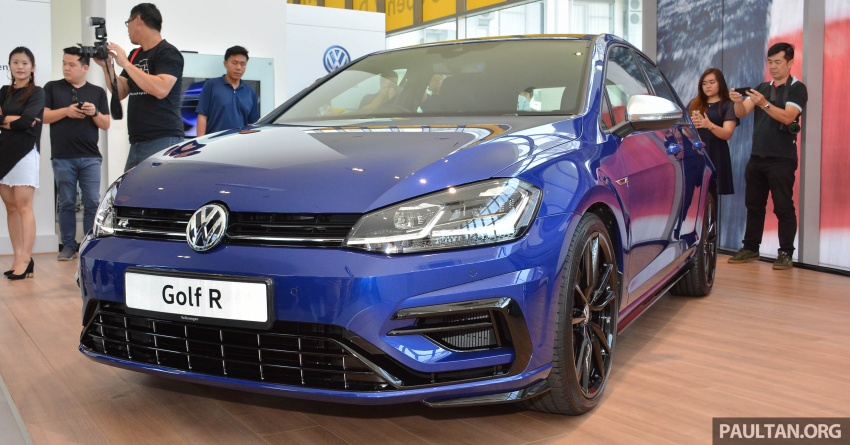 2018 Volkswagen Golf R debuts in Malaysia – RM296k Image #794821