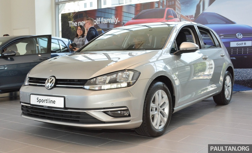 Volkswagen Golf 1.4 TSI facelift introduced in Malaysia – Sportline and R-Line trims, RM156k to RM170k Image #795037