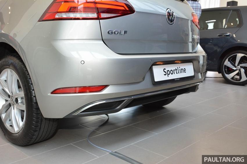 Volkswagen Golf 2018 kini tiba di pasaran Malaysia – 1.4 TSI Sportline dan R-Line, RM156k hingga RM170k Image #794916