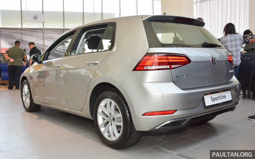 Volkswagen Golf 1.4 TSI facelift introduced in Malaysia – Sportline and R-Line trims, RM156k to RM170k Image #795039