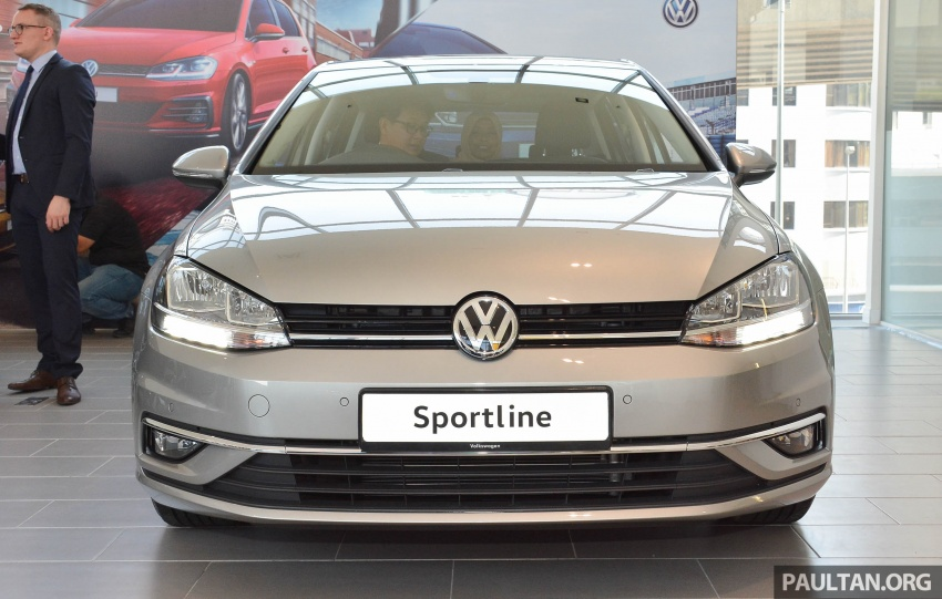Volkswagen Golf 1.4 TSI facelift introduced in Malaysia – Sportline and R-Line trims, RM156k to RM170k Image #795040