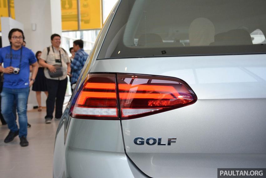 Volkswagen Golf 2018 kini tiba di pasaran Malaysia – 1.4 TSI Sportline dan R-Line, RM156k hingga RM170k Image #794912