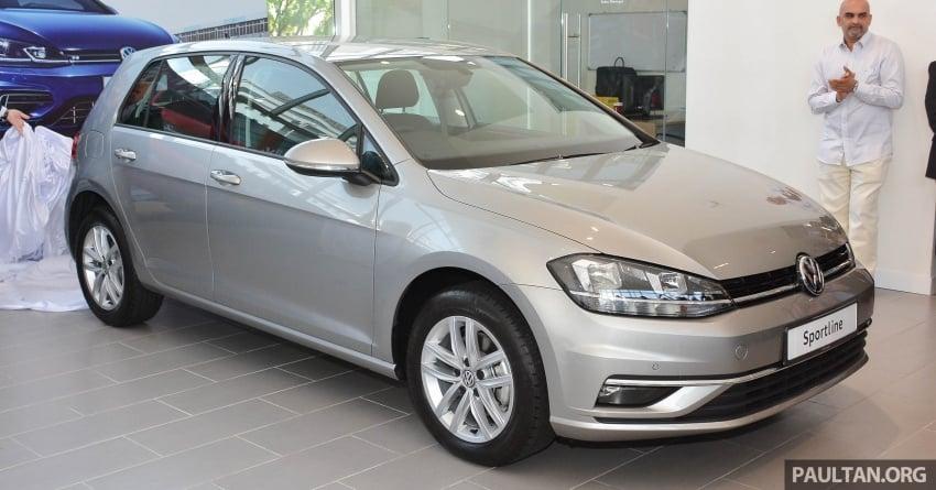 Volkswagen Golf 2018 kini tiba di pasaran Malaysia – 1.4 TSI Sportline dan R-Line, RM156k hingga RM170k Image #794803