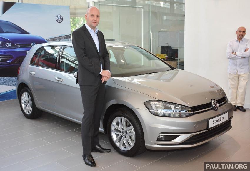 Volkswagen Golf 2018 kini tiba di pasaran Malaysia – 1.4 TSI Sportline dan R-Line, RM156k hingga RM170k Image #794804
