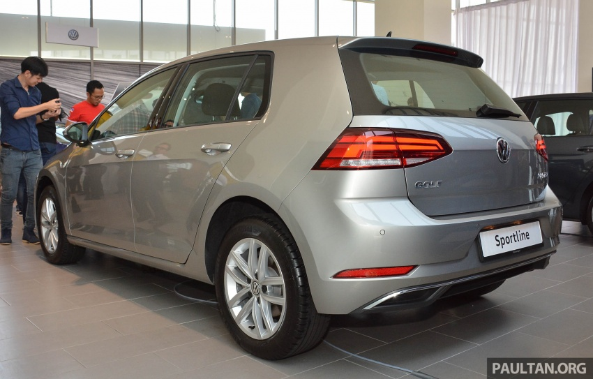 Volkswagen Golf 1.4 TSI facelift introduced in Malaysia – Sportline and R-Line trims, RM156k to RM170k Image #794820