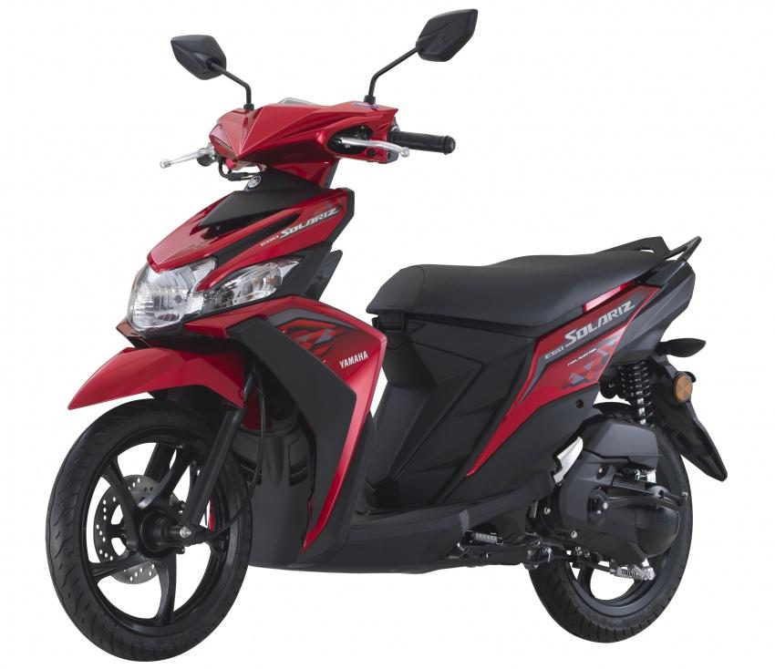 2018 Yamaha Ego Solariz in four new colours, RM5.5k Image #787985