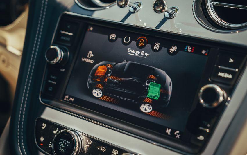 Bentley Bentayga Hybrid – new 3.0L V6, 50 km e-range Image #1021917